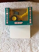 Bob The Builder Scoop Toy Tractor Limited From Walmart Nip 2004