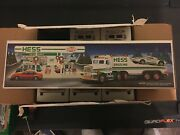 1991 Hess Toy Truck And Racer Vintage You Get Only One Truck From Case