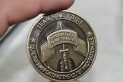 Us Navy Seal Team One Voice Operation 14th Honor Ride Gut 2020 Challenge Coin