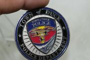 Town Of Duck Police Department Challenge Coin