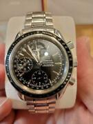 Auth Omega Watch Speedmaster Ref. 3220.50.00 Automatic Date Chronometer F/s