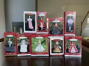 Lot Of 9 Hallmark Barbie Keepsake Ornaments 1996-2001 Assorted New With Boxes