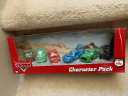 Disney Pixar Cars Set 6 Pack Characters Lizzie Chick Hicks The King And More