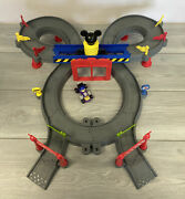 Disney Mickey Mouse Clubhouse Mickey Ears Roadster Racers Race Track Playset