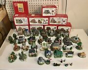 Liberty Falls Americana Collection - Lot Of Over 30 Pieces + Bailey's Ornament