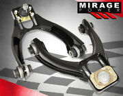 For 96-00 Civic Upgrade Race Adjustable Front Upper Black Control Arm Camber Kit