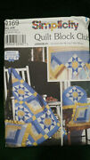Simplicity 9169 Quilt Block Club Pattern Variable Star And Log Cabin Blocks