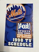 1998 New York Yankees And New York Mets Dual Tv Schedule
