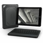 Zagg Rugged Book - Durable Case And Bluetooth Keyboard For Apple Ipad Mini 5