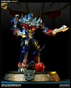 Sideshow Exclusive Transformers Maquette Optimus Prime Statue 24 New Sealed