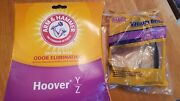 Arm And Hammer Odor Eliminating Vacuum Bags Hoover Y Z 2 Bags 1 Belt Style 30