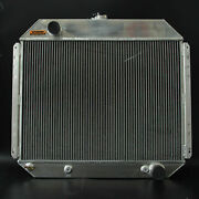 Spawon 4 Rows 62mm Aluminum Radiator For 66-79 Ford Truck Chevy Engine At/mt 833