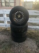Nitto Sn2 215/60r 16 Barely Used All Season Tires On Rims 4 Avail Priced Single