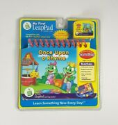 New - Once Upon A Rhyme Preschool Leap Frog My First Leappad Learning System