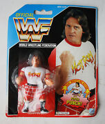 Vintage 1990 Wwf Rowdy Roddy Piper Figure With Piper Punch Hasbro New Sealed