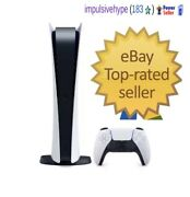 Sony Playstation 5 Digital Edition Console - Ps5 New✅in Hand✅ Fast Free Ship✅
