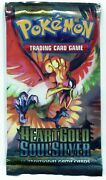 Pokemon Heart Gold Soul Silver Base Set Booster Pack Hgss English Sealed