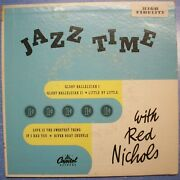 Jazz Time With Red Nichols - 1950 Capitol 45 Double Ep
