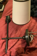 Visual Comfort And Co Oil Rubbed Bronze 14.5 Over All Wall Sconce Paper Shade