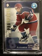 2004 2005 Alexander Ovechkin Auto Rc Itg Heroes Prospects Mvp Signed Rookie Sp