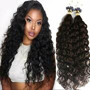 Deep Curly Micro Loop Ring Beads Human Hair Extension Long Curly Hair 100strands