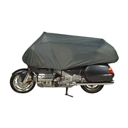 Fits 1981 Bmw R65ls Legend Traveler Motorcycle Cover - Sport Gray