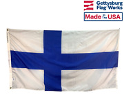 Country Of Finland Flag Durable All Weather Nylon Made In Usa Multiple Sizes