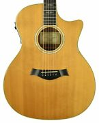 2002 Taylor W-14-ce Acoustic Guitar In Natural
