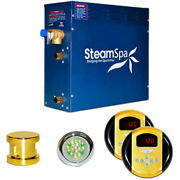New Steam Generator Package, 4.5kw, Polished Brass