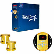 New Steam Generator Package 10.5kw Polished Brass