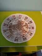 1970 Alfred Mean On God Bless Our House Zodiac 9 Plate