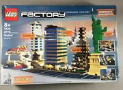 Lego Factory Skyline 5526 Set Statue Of Liberty Skyscrapers Factory Sealed New