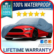Fits. [ford Mustang Gt] Car Cover ☑️ 100 Waterproof ☑️ All-weather ✔custom✔fit