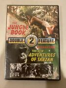 Double Feature-the Jungle Book And The New Adventures Of Tarzan - Dvd - Very Good