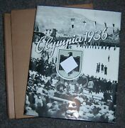 Olympics 1936 - Collectors Photo Album. Winter Games, + Dust Jacket And Slip Case