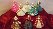 Hallmark Collectors Club+holiday Barbie+collectors Club, Lot Of 13- Mint In Box