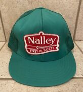 Vintage Nalley Pickles Trucker Hat Mesh Patch Cap Pepsi K Products Seed Farm