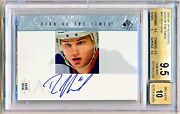 2003-04 Sp Authentic Rick Nash Sign Of The Times Sot-rn Bgs 9.5/10 - Pop 7