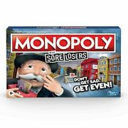 New Monopoly For Sore Losers Board Game Christmas Gift Toys Kid's 2020 New F1