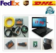 Bmw Icom A2 X200t Laptop I7 Win7 Software 500gb Hdd With Full Cable 2019 Version