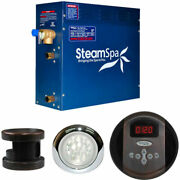 New Steam Generator Package, 4.5kw, Oil Rubbed Bronze