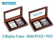 Christmas Gift Deal 2 Lighthouse Slab Boxes Each Holds 2 Ngc Pcgs Certified Coin
