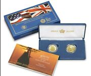 400th Anniversary Of The Mayflower Voyage Two-coin Gold Proof Set. Order Confirm