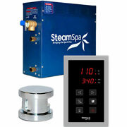 New Touch Pad Steam Generator Package 9kw Polished Chrome