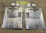 1961-65 Lincoln Left And Right Rear Floor Patch Panels, 2-piece New Free Shipping