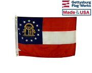 North Carolina Flag - Durable All Weather Nylon - Made In Usa - Multiple Sizes
