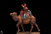 Persian Battle Camel Tin Painted Toy Soldier Pre-sale   Collectible Quality