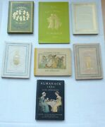 Kate Greenawayandrsquos Almanacandrsquos. A Complete Set Of 14 First Editions. 1883-1897.