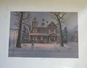 Jesse Barnes Signed And Numbered Print 1989 Frost And Gingerbread  893 / 2000