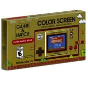 Nintendo Game And Watch Super Mario Bros• Sold Out •nib•ships Same Day •free Fedex